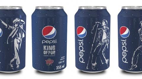 Les différentes canettes Pepsi