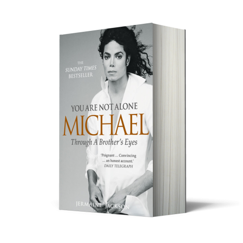 "Jermaine : livre de poche de ""You Are Not Alone Michael"""