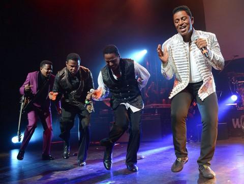 Les Jacksons sont en Belgique
