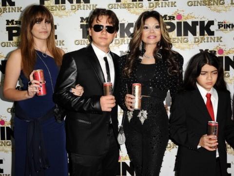 Les enfants de MJ et Latoya à une soirée Mr Pink