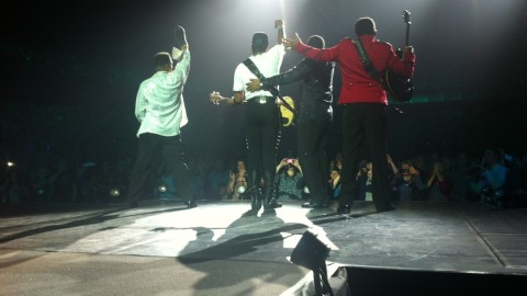 The Jacksons oogsten immens succes tijdens Night Of The Proms