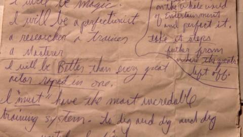 Le manifeste de MJ écrit en 1979
