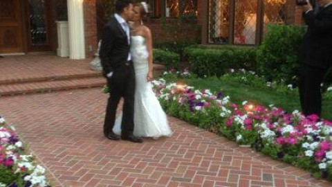 Taj Jackson : just married !