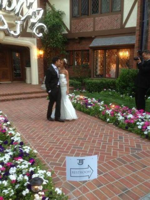 Taj Jackson : just married !