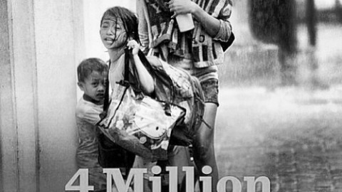 Typhon Haiyan aux Philippines. Austin Brown appelle à l'aide…
