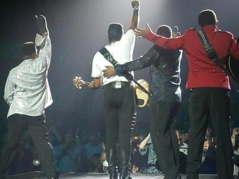 Les Jacksons de retour en Belgique