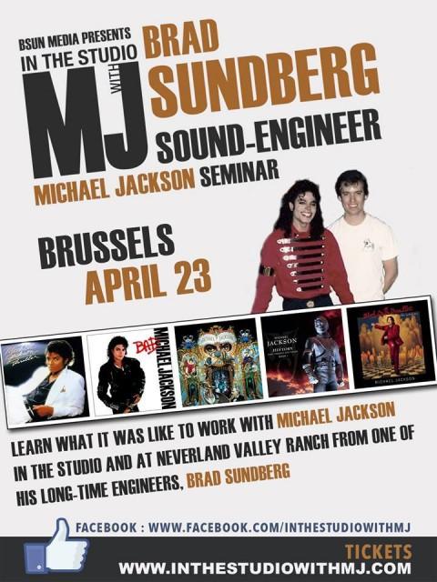 Le séminaire de Brad Sundberg vient à Bruxelles !