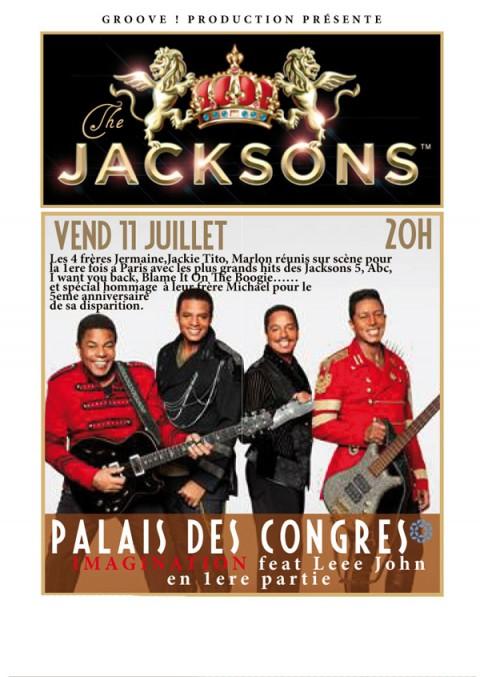 Les Jacksons à Paris et Hyères