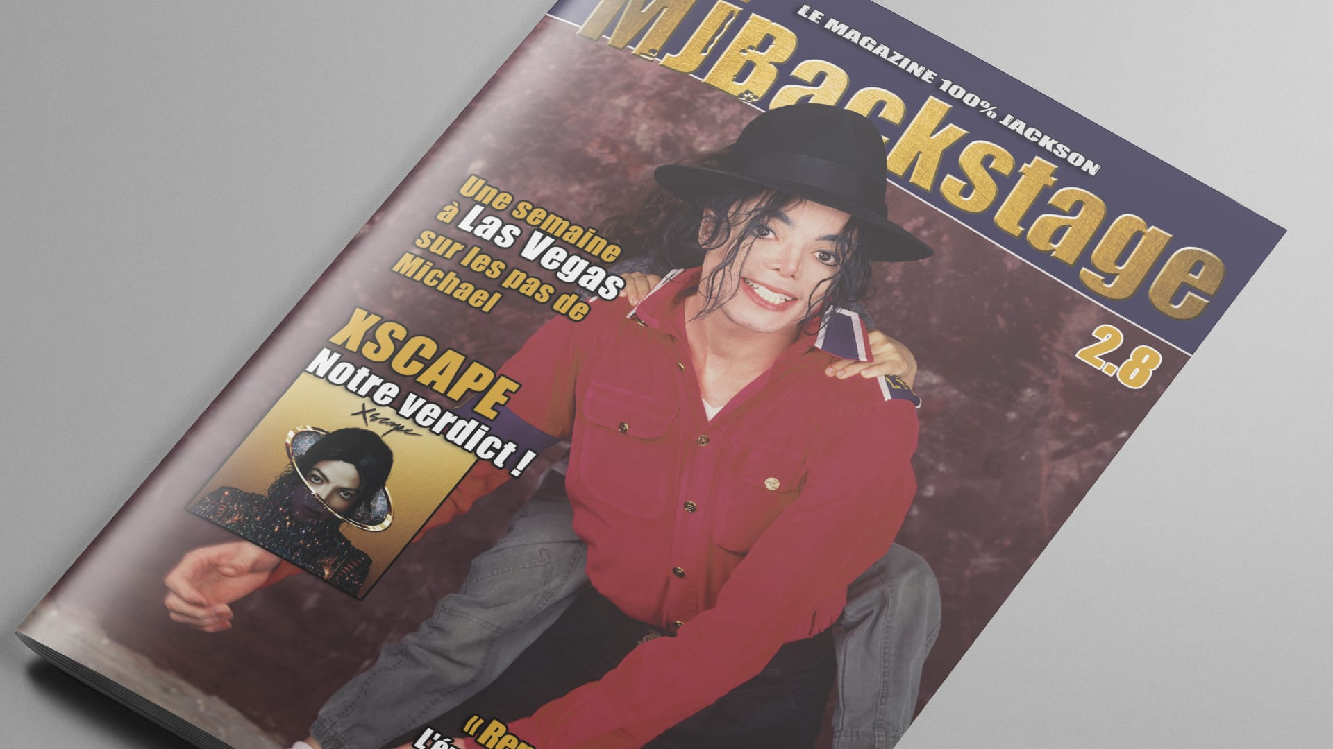 MJ Backstage 28