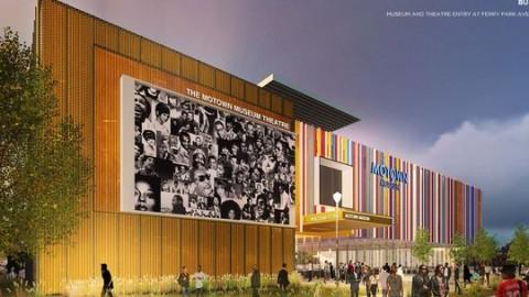 Un nouveau Motown Museum à Detroit pour 2018