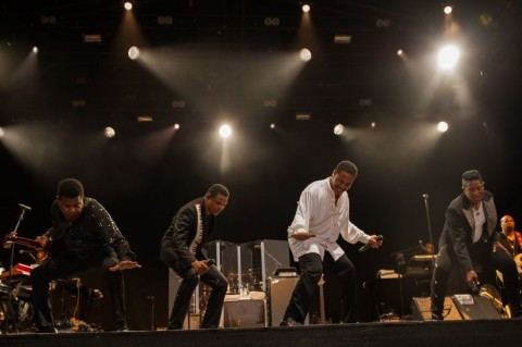 Les deux premiers shows anglais des Jacksons