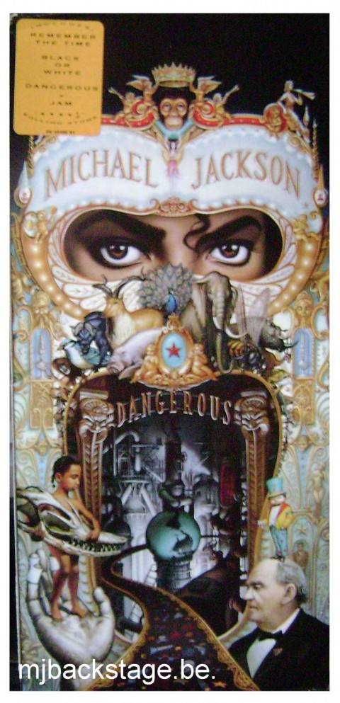 Dangerous – CD Long Box – USA