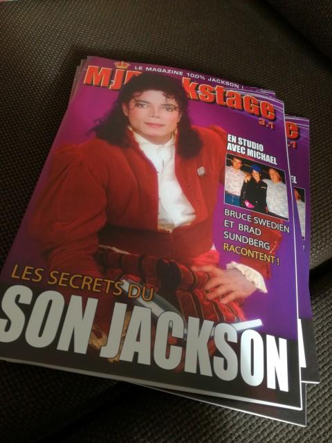 Le nouveau MJBackstage est là !!!!