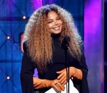 Janet Jackson au Rock & Rock Hall of Fame.