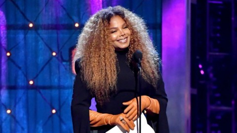 Janet Jackson au Rock & Rock Hall of Fame.