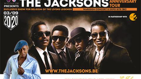 Les Jacksons en Belgique en septembre