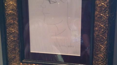 Un dessin de MJ à Bruxelles