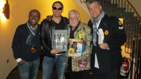 Brusselse ontmoeting van MJB met Michael Bush
