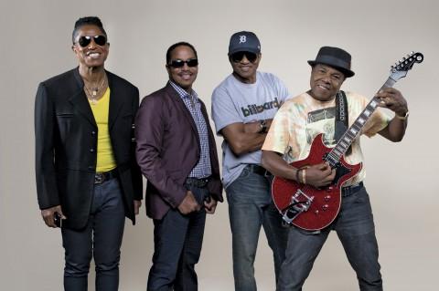 Performance des Jacksons à Vegas