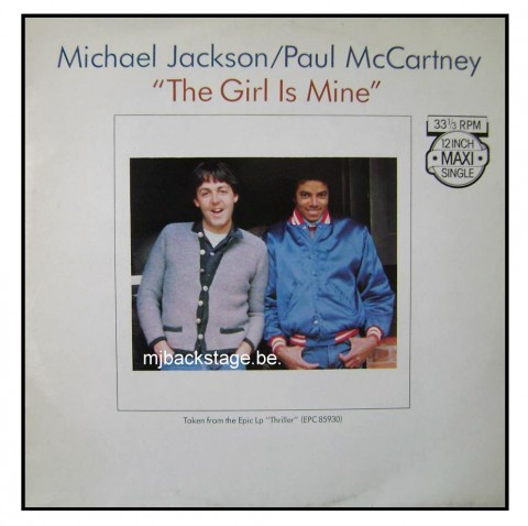 The Girl Is Mine – Maxi 45 Tours