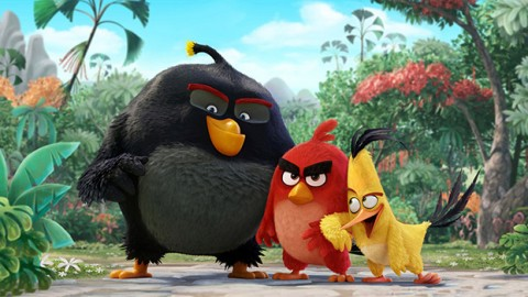 BAD comme soundtrack au film Angry Birds