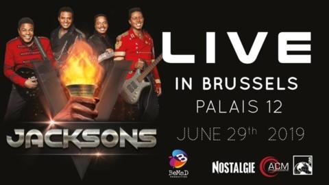 Les Jacksons à Bruxelles (et en France) !